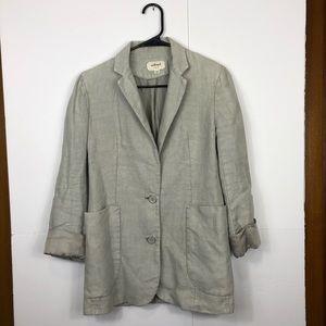 Aritzia's Wilfred Linen Blazer Jacket Sz 2